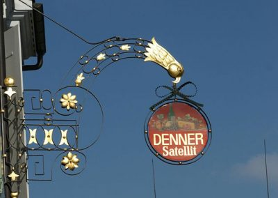 Denner Street Sign